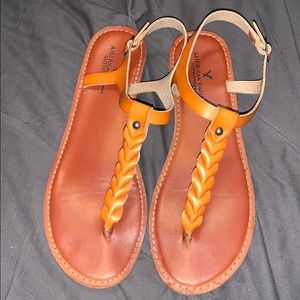 American eagle thing sandals